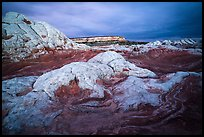 White pocket, stormy evening. Vermilion Cliffs National Monument, Arizona, USA ( color)