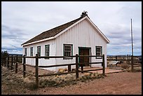 Mount Trumbull School House. Parashant National Monument, Arizona, USA ( color)