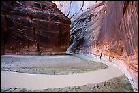 Bend of the Paria River in Paria Canyon. Vermilion Cliffs National Monument, Arizona, USA ( color)