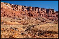 The Vermilion Cliffs. Vermilion Cliffs National Monument, Arizona, USA ( )