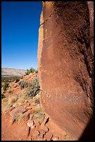 Maze Rock Art site. Vermilion Cliffs National Monument, Arizona, USA ( )