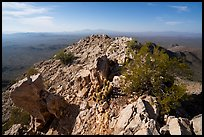Waterman Peak summit. Ironwood Forest National Monument, Arizona, USA ( color)