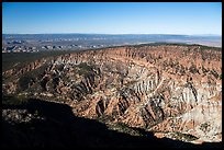 Hells Hole amphitheater from Mt Logan. Grand Canyon-Parashant National Monument, Arizona, USA ( color)