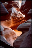 Lower Antelope Canyon. Arizona, USA (color)