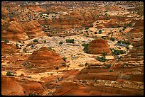 Sandstone teepees, North Coyote Buttes. Vermilion Cliffs National Monument, Arizona, USA ( color)