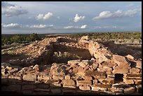 Lowry Pueblo, late afternoon. Canyon of the Anciens National Monument, Colorado, USA ( color)