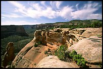 Cliffs. Colorado National Monument, Colorado, USA ( color)