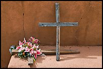 Crosses, Sanctuario de Chimayo. New Mexico, USA