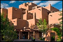 Loreto Inn hotel. Santa Fe, New Mexico, USA (color)