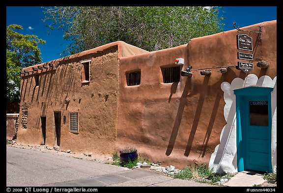 Oldest house in America. Santa Fe, New Mexico, USA