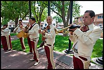 Mariachi musicians. Albuquerque, New Mexico, USA ( color)