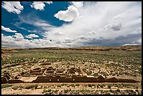 Chetro Ketl great house. Chaco Culture National Historic Park, New Mexico, USA ( color)