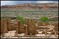 Kin Kletso. Chaco Culture National Historic Park, New Mexico, USA ( color)