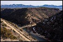 John Dunn Bridge. Rio Grande Del Norte National Monument, New Mexico, USA ( )