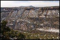 Rio Grande Gorge from Cebolla Mesa. Rio Grande Del Norte National Monument, New Mexico, USA ( )