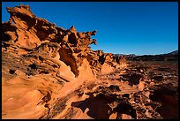 Little Finland, afternoon. Gold Butte National Monument, Nevada, USA ( )