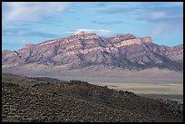 Meeker Peak at dawn. Basin And Range National Monument, Nevada, USA ( )