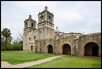 Mission Concepcion. San Antonio, Texas, USA