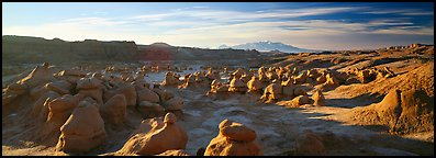 Goblin Valley scenery. Utah, USA (Panoramic color)