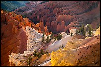 Colorful eroded rocks. Cedar Breaks National Monument, Utah, USA ( color)