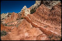 Colorful badlands along Cottonwood Canyon Road. Grand Staircase Escalante National Monument, Utah, USA ( color)