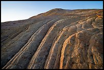Swirls and cross-bedding, Yellow Rock. Grand Staircase Escalante National Monument, Utah, USA ( color)