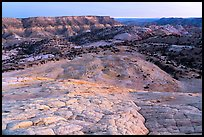 Yellow Rock Valley, dusk. Grand Staircase Escalante National Monument, Utah, USA ( color)