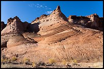Sandstone spires. Grand Staircase Escalante National Monument, Utah, USA ( color)