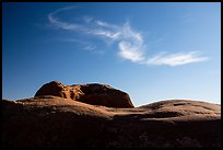 Dance Hall Rock and cloud. Grand Staircase Escalante National Monument, Utah, USA ( color)
