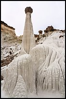 Wahweap Hoodoos. Grand Staircase Escalante National Monument, Utah, USA ( color)
