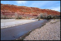Paria Riverbanks, Old Pahrea. Grand Staircase Escalante National Monument, Utah, USA ( color)