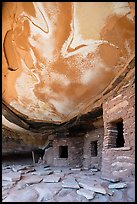 Fallen Roof House, Road Canyon. Bears Ears National Monument, Utah, USA ( color)