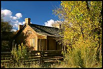 Old house, Grafton. Utah, USA ( color)