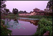 Imperial library and pond, citadel. Hue, Vietnam ( color)