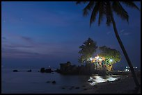 Cau Castle at night. Phu Quoc Island, Vietnam ( color)