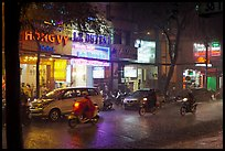 Evening Downpour. Ho Chi Minh City, Vietnam (color)