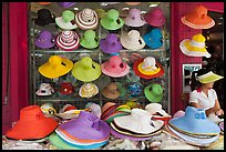 Store selling hats. Ho Chi Minh City, Vietnam