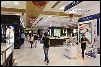 Designer brands in shopping center. Ho Chi Minh City, Vietnam