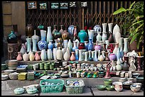 Ceramics for sale. Bat Trang, Vietnam ( color)