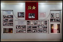 Historic photos, Ho Chi Minh Museum. Ho Chi Minh City, Vietnam ( color)
