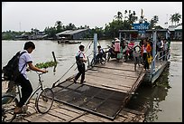 River ferry. Can Tho, Vietnam ( color)
