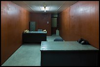 Military communications room, Independence Palace. Ho Chi Minh City, Vietnam ( color)