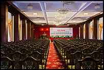 Conference Hall, Reunification Palace. Ho Chi Minh City, Vietnam ( color)