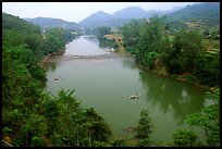 Ky Cung River Valley. Northest Vietnam (color)