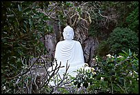 Buddha statue in the Marble mountains. Da Nang, Vietnam ( color)