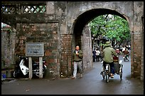 Gates of the old city. Hanoi, Vietnam (color)