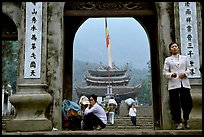 One of the numerous sanctuaries on the trail. Perfume Pagoda, Vietnam