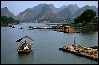 The canal of Ken Ga. Ninh Binh,  Vietnam