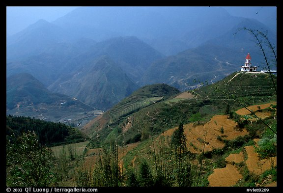 Hills of the Blue Country. Sapa, Vietnam